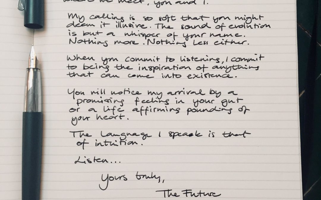 Dear Future Leader // Letter No. 2